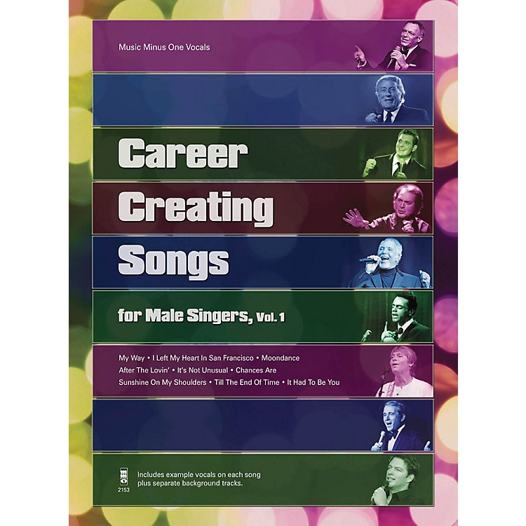 Music Minus OneCareer Creating Songs for Male Singers, Vol. 1 Music Minus One Series Softcover with CD