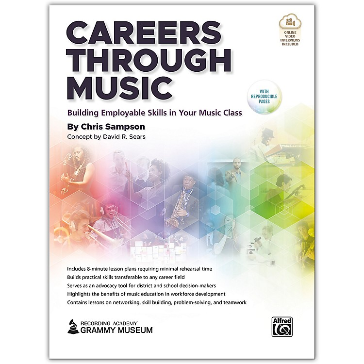 AlfredCareers Through Music Book & Streaming Video