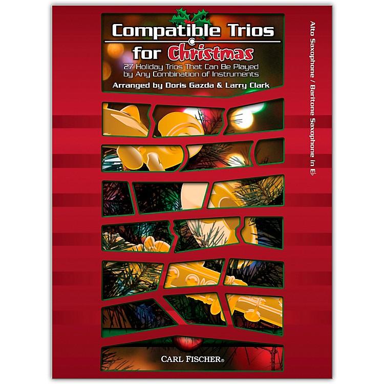 Carl FischerCarl Fischer Compatible Trios For Christmas – Alto/Bariton Saxophone