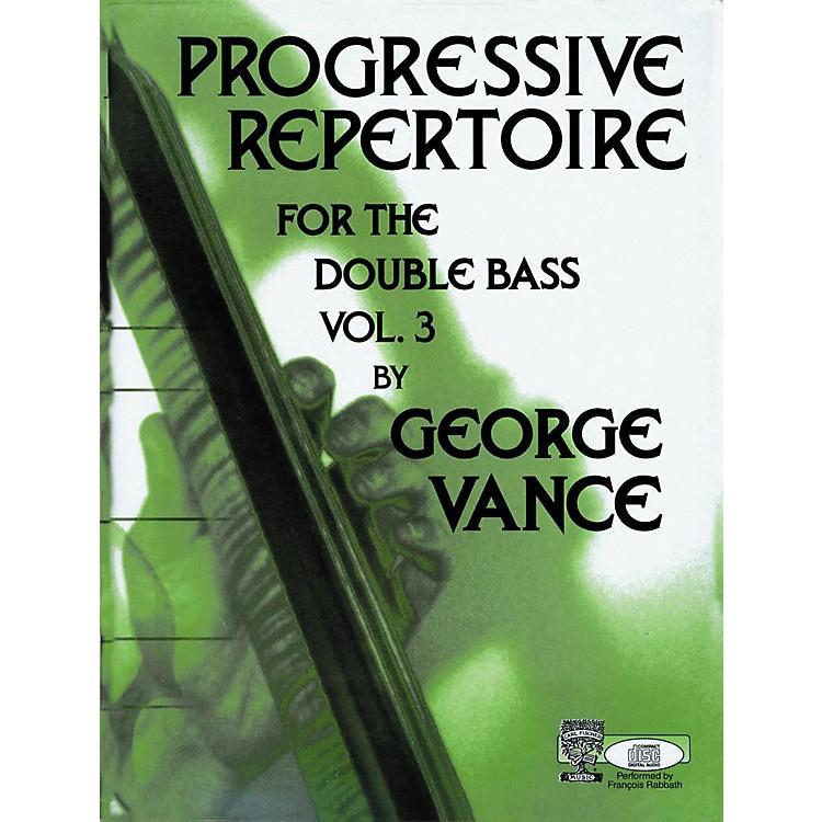 Carl FischerCarl Fischer Progressive Repertoire For The Double Bass Vol. Three