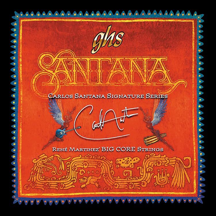 ghs carlos santana big core guitar strings custom light music123. Black Bedroom Furniture Sets. Home Design Ideas