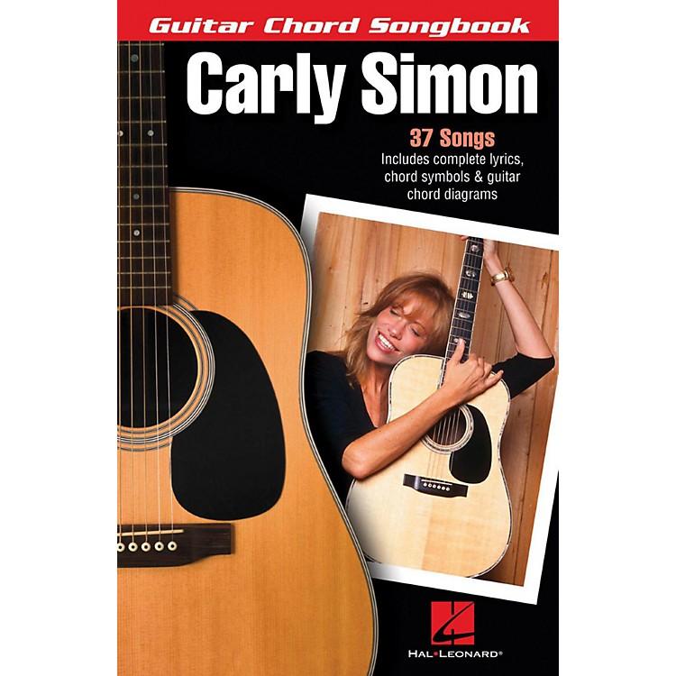 Hal LeonardCarly Simon - Guitar Chord Songbook