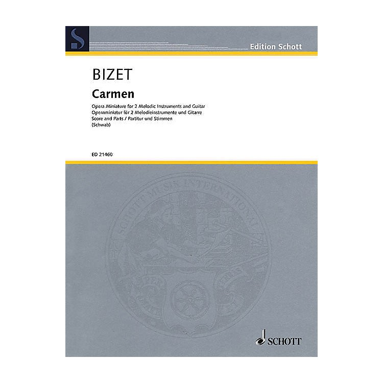 SchottCarmen Ensemble Series Softcover Composed by Georges Bizet Arranged by Siegfried Schwab