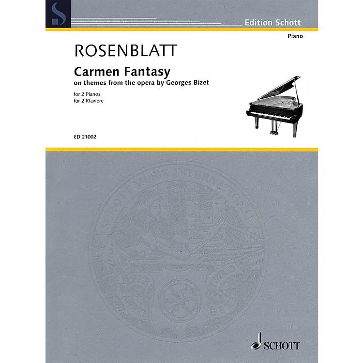 SchottCarmen Fantasy Schott Series Composed by Alexander Rosenblatt