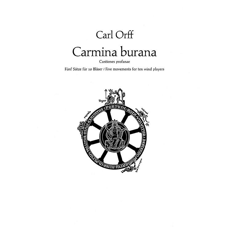 SchottCarmina Burana (Parts) Schott Series by Carl Orff Arranged by Friedrich K. Wanek