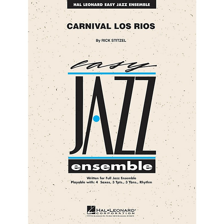 Hal Leonard Carnival Los Rios Jazz Band Level 2 Composed by Rick Stitzel