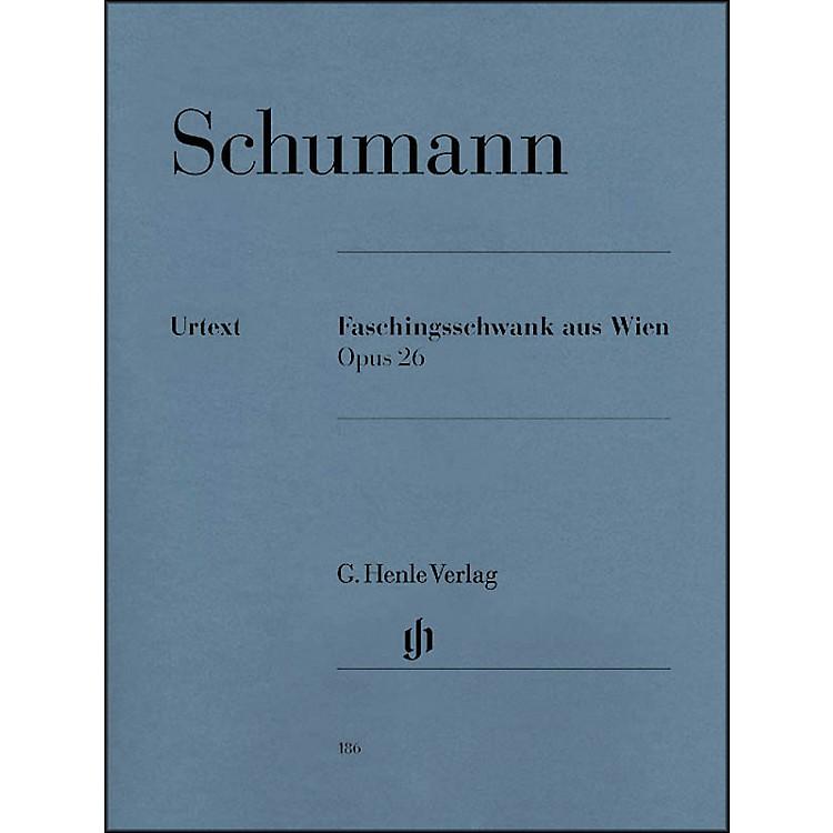 G. Henle VerlagCarnival Of Vienna Op. 26 By Schumann