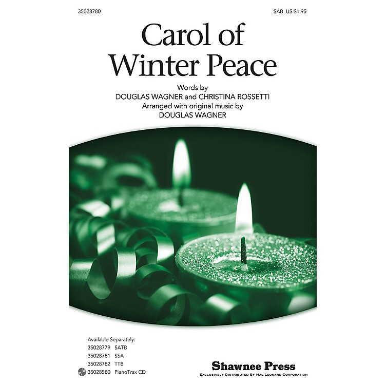 Shawnee PressCarol Of Winter Peace SAB arranged by Douglas Wagner
