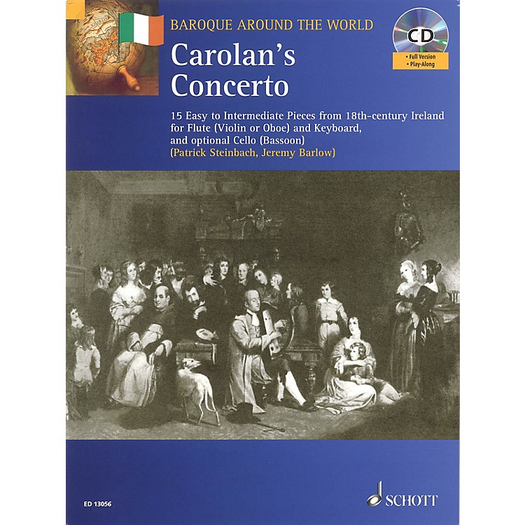 SchottCarolan's Concerto Misc Series Softcover with CD