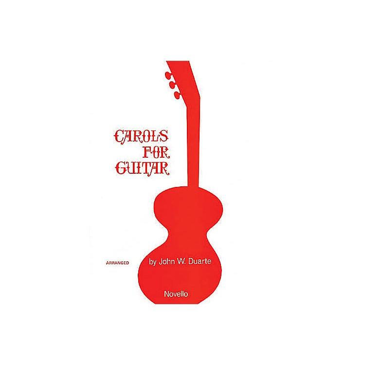 NovelloCarols for Guitar Solo Music Sales America Series