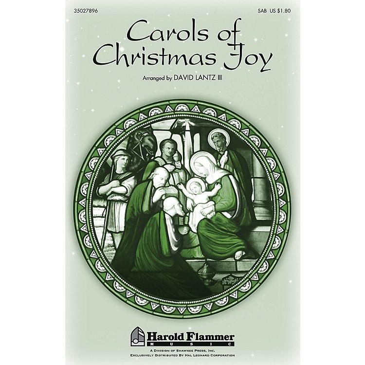Shawnee PressCarols of Christmas Joy SAB arranged by David Lantz III