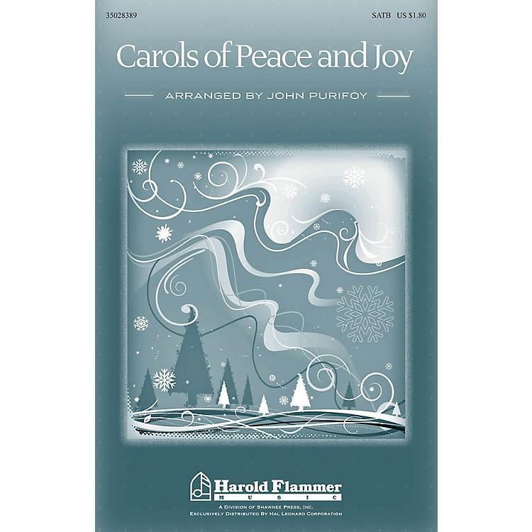 Shawnee PressCarols of Peace and Joy SATB arranged by John Purifoy