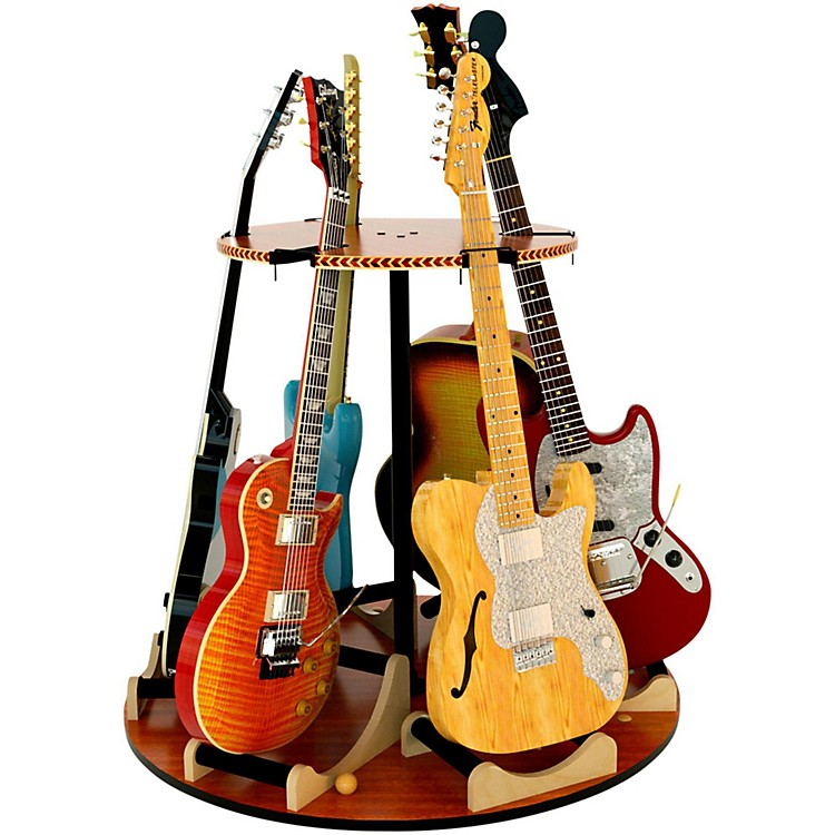 A&S Crafted ProductsCarousel Deluxe Multi-Guitar Stand