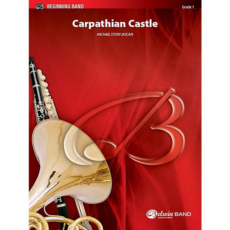 AlfredCarpathian Castle Concert Band Grade 1 Set