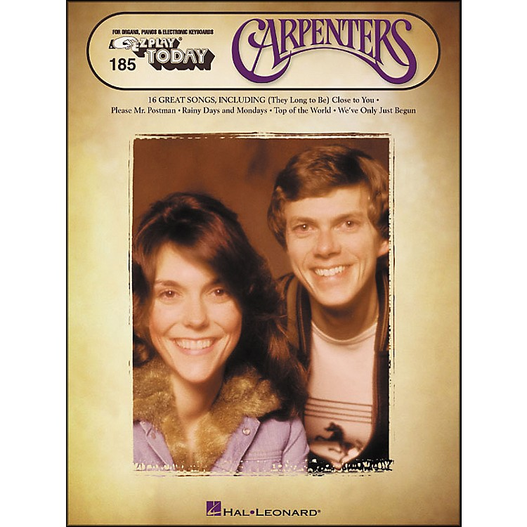 Hal Leonard Carpenters E-Z Play 185