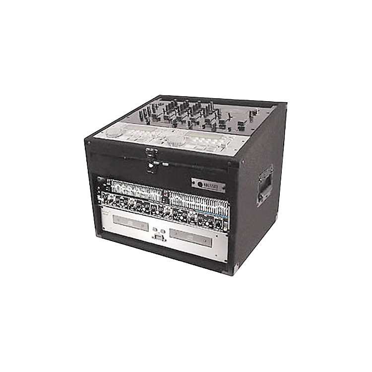 OdysseyCarpeted Combo Mixer Rack Case4 Spaces