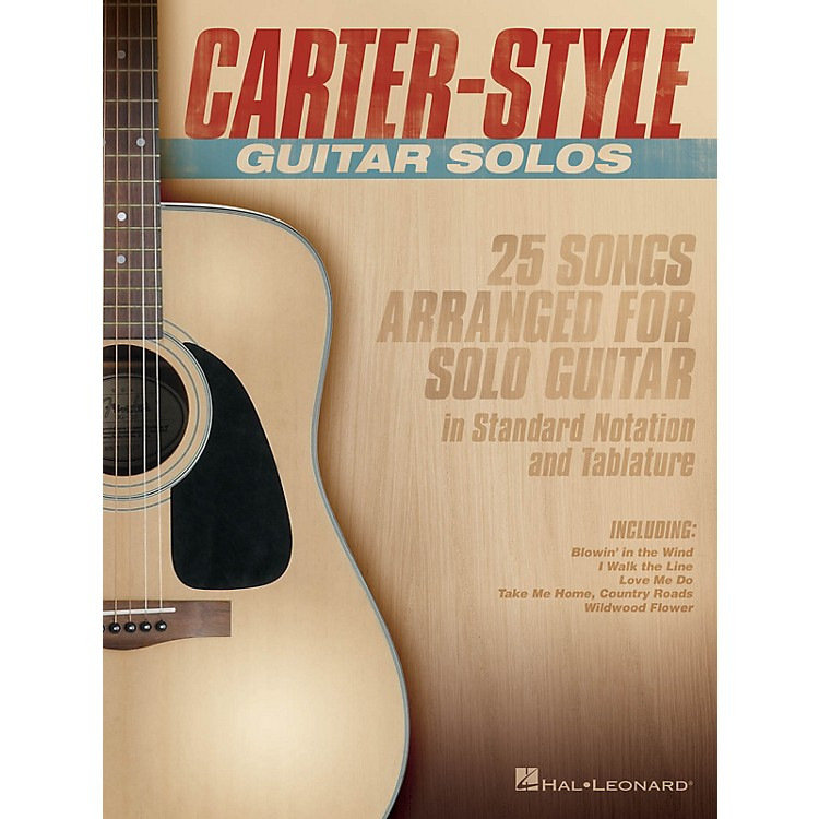 Hal LeonardCarter-Style Guitar Solos Guitar Collection Series Softcover Performed by Carter Family