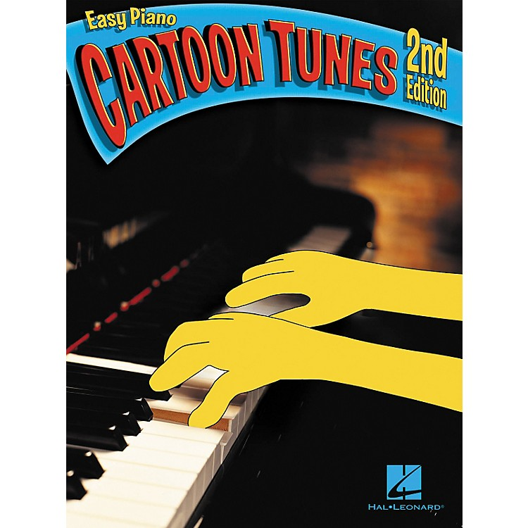 Hal Leonard Cartoon Tunes For Easy Piano 2nd Edition