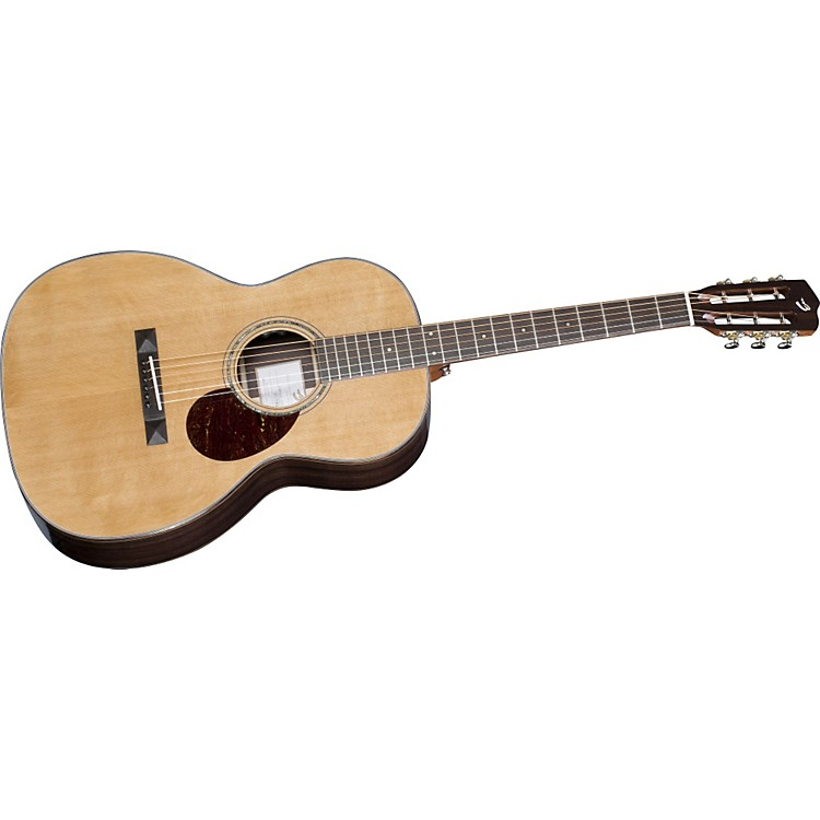 Breedlove Cascade OOO/CRe Slotted Peghead 12 Fret Acoustic-Electric Guitar Natural