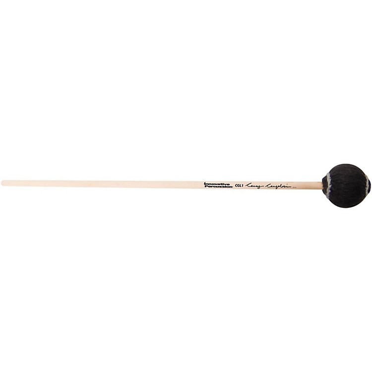 Innovative PercussionCasey Cangelosi Bass Marimba MalletsHeavy/Black YarnBirch