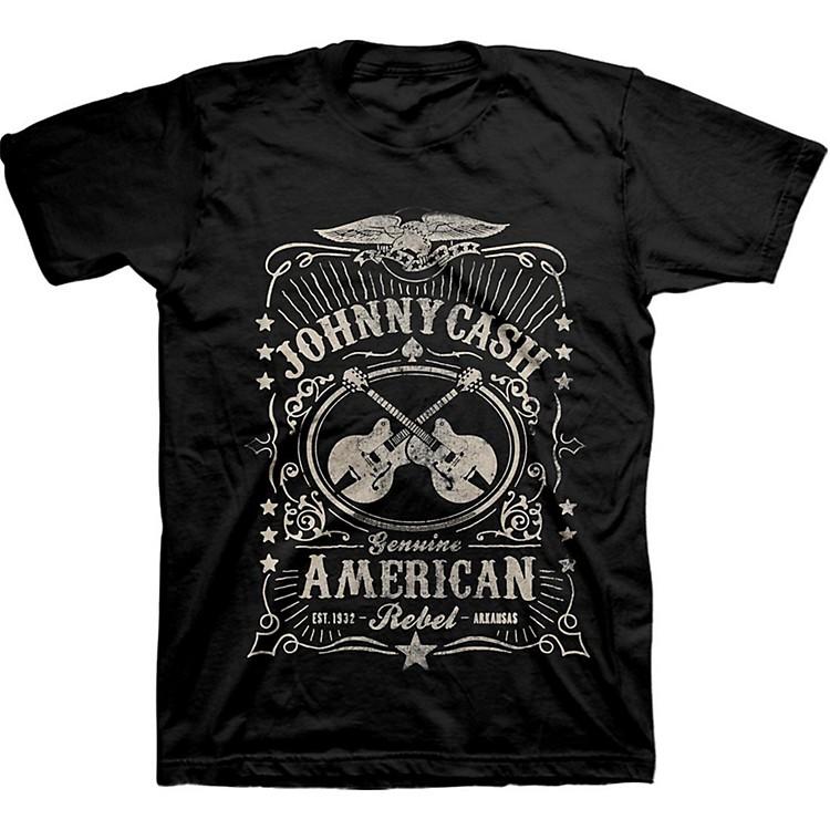 Johnny CashCash American Rebel LabelLarge