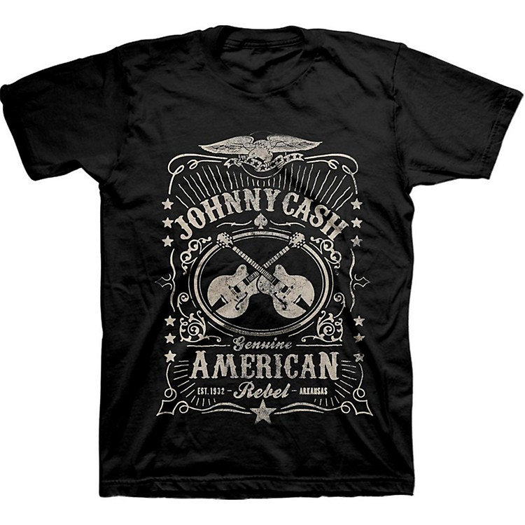 Johnny CashCash American Rebel LabelMedium