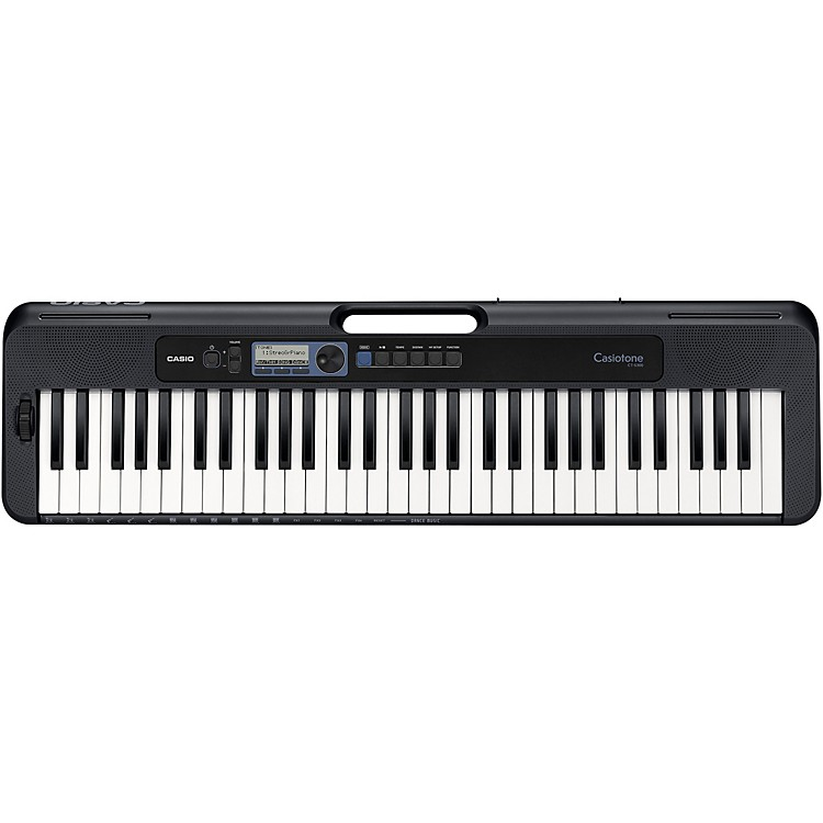 Casio Casiotone CT-S300 61-Key Digital Keyboard Blue