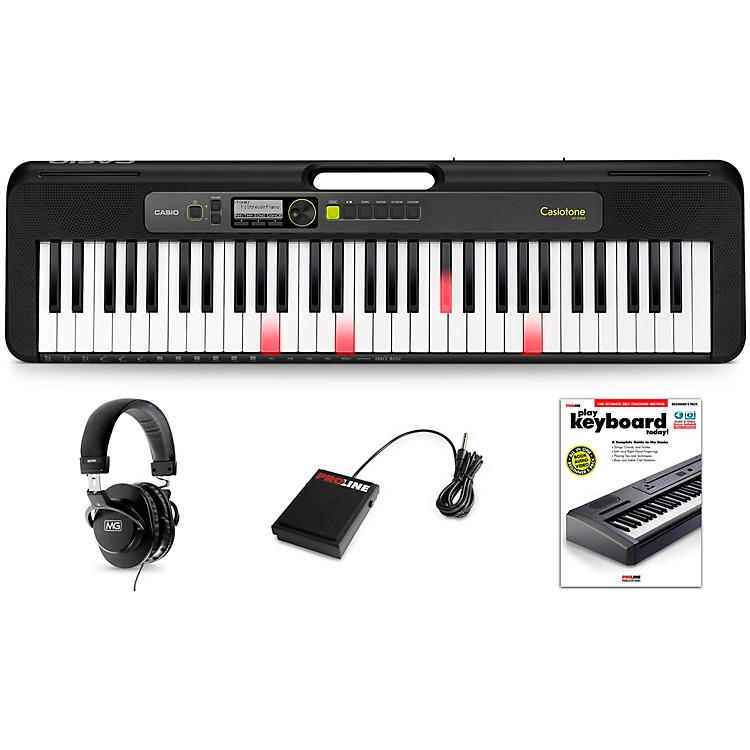 Casio Casiotone LK-S250 Keyboard Essentials Kit