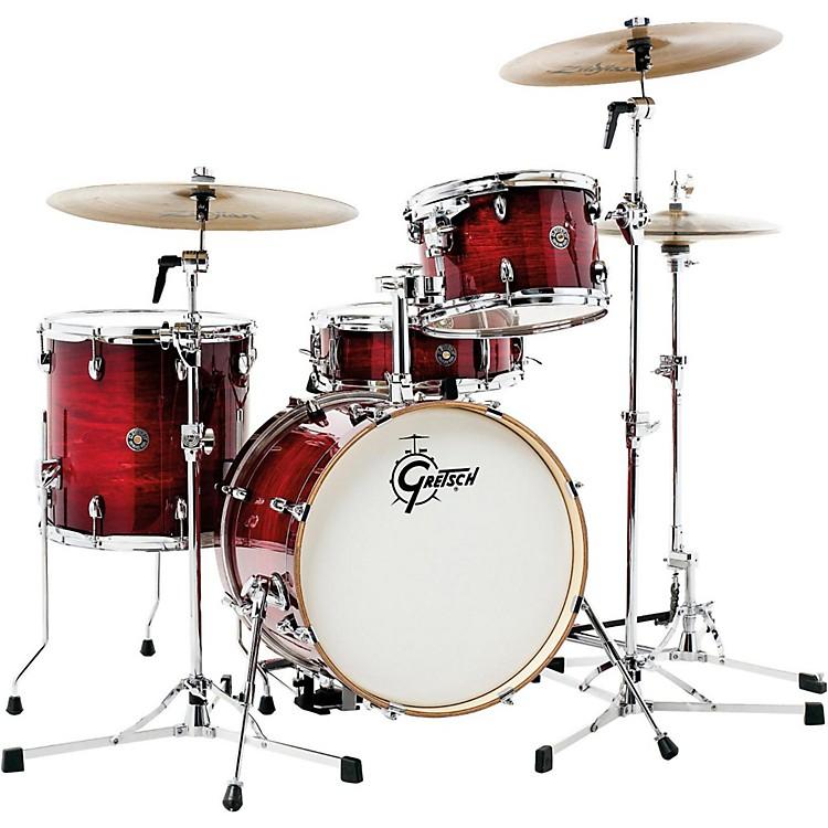 Gretsch DrumsCatalina Club Jazz 4-Piece Shell PackGloss Crimson Burst