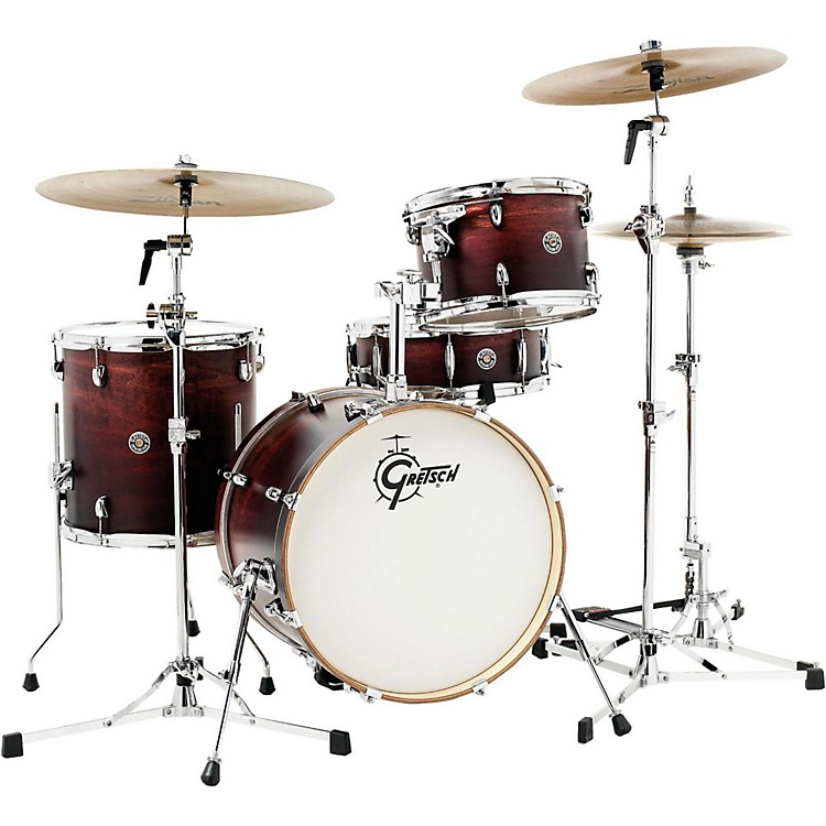 Gretsch Drums Catalina Club Jazz 4-Piece Shell Pack Gloss Crimson Burst