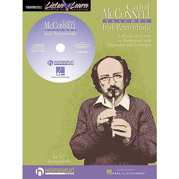 Hal LeonardCathal Mcconnell Teaches Pennywhistle Homespun Tapes Series Softcover with CD by Cathal McConnell
