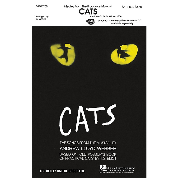 Hal LeonardCats (Medley) SSA Arranged by Ed Lojeski