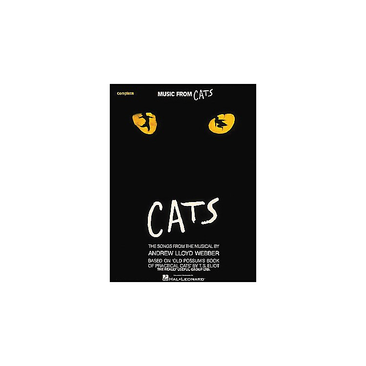 Hal LeonardCats (Music From 2003 Complete) arranged for piano, vocal, and guitar (P/V/G)