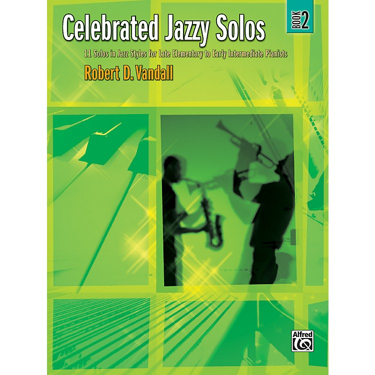 Alfred Celebrated Jazzy Solos Book 2