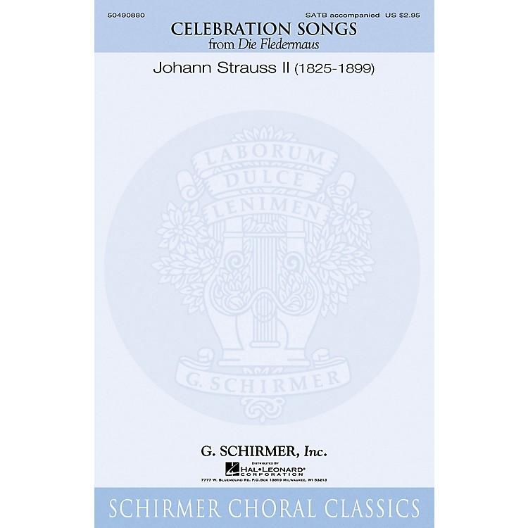 G. SchirmerCelebration Songs (from Die Fledermaus) ORCHESTRA ACCOMPANIMENT Composed by Johann Strauss II