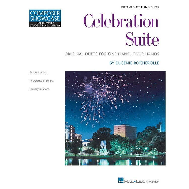 Hal LeonardCelebration Suite Educational Piano Library Series Softcover Composed by Eugénie Rocherolle