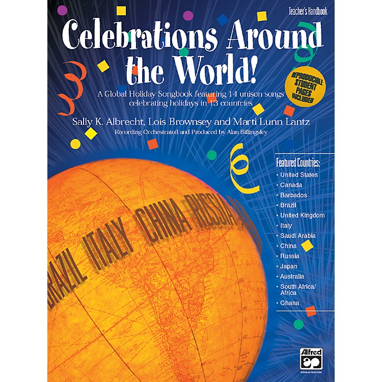 AlfredCelebrations Around the World! A Global Holiday Songbook Teacher's Handbook