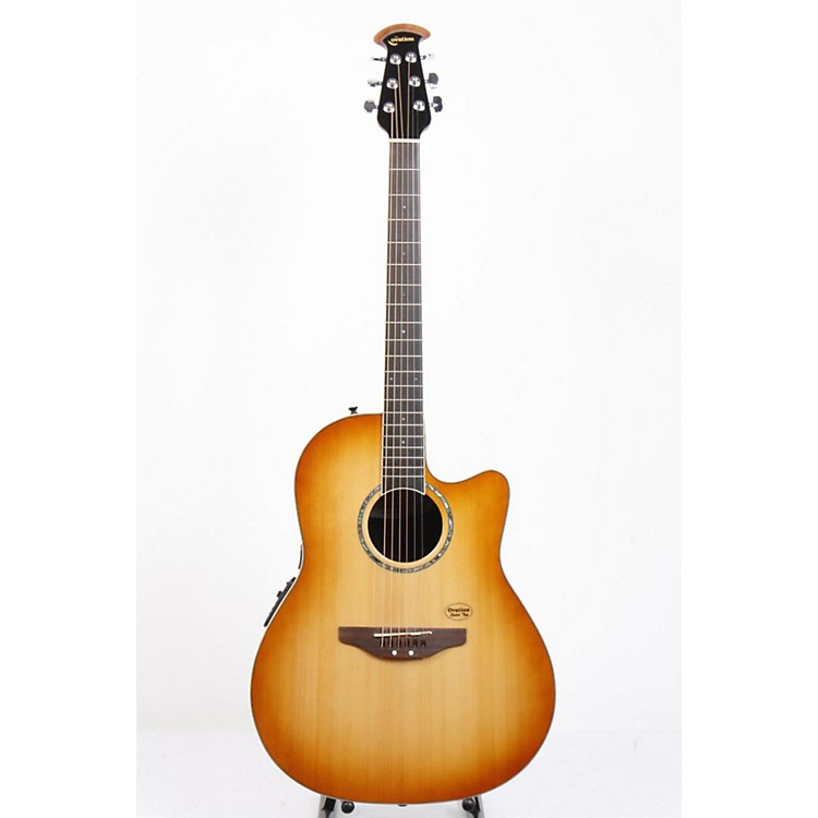 Ovation Celebrity CC24S Acoustic-Electric Guitar Tuscan Tan Burst 886830728709