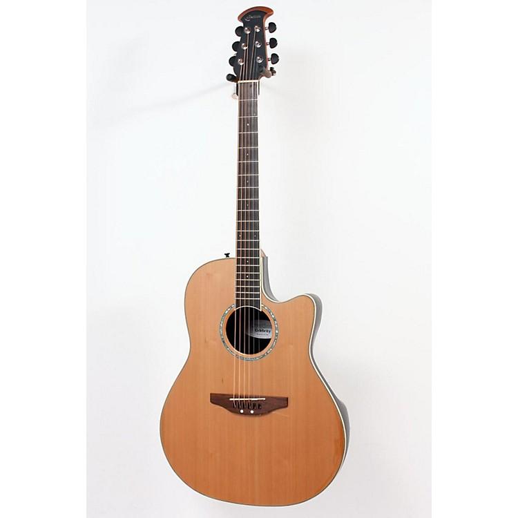 OvationCelebrity Contour Body Acoustic-Electric GuitarCedar Top886830997020