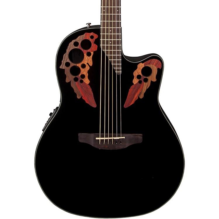 OvationCelebrity Elite Acoustic-Electric GuitarBlack