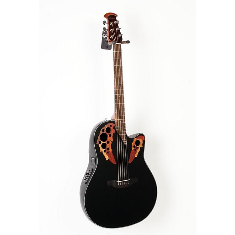 OvationCelebrity Elite Acoustic-Electric GuitarBlack888365899633