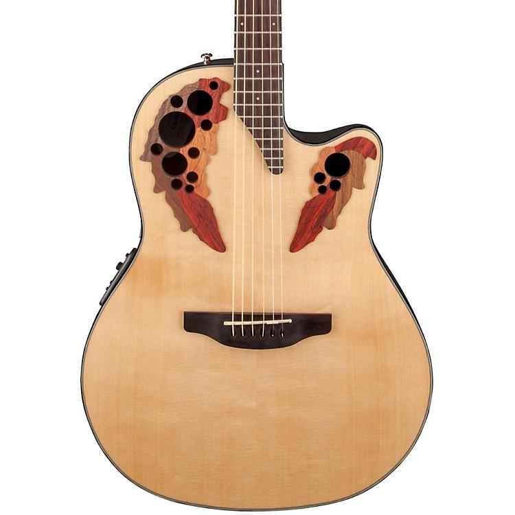 OvationCelebrity Elite Acoustic-Electric GuitarNatural