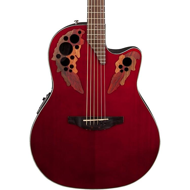 OvationCelebrity Elite Acoustic-Electric GuitarRuby Red