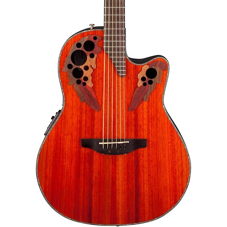 OvationCelebrity Elite Plus Acoustic-Electric GuitarNatural
