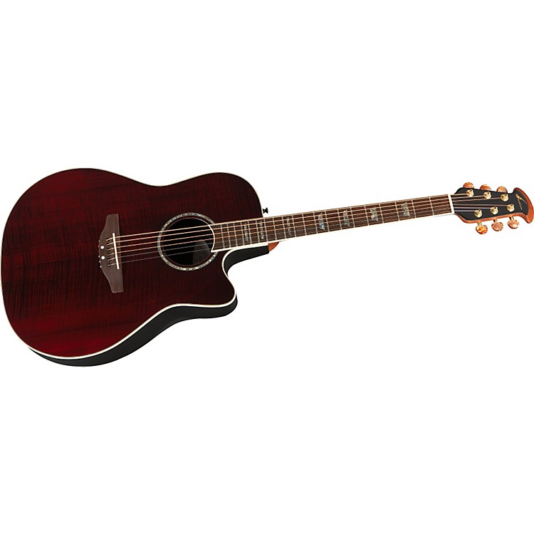 Ovation Celebrity Mid Depth Flame Maple