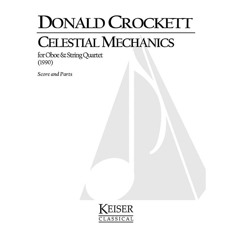 Lauren Keiser Music PublishingCelestial Mechanics (for Oboe and String Quartet) LKM Music Series by Donald Crockett