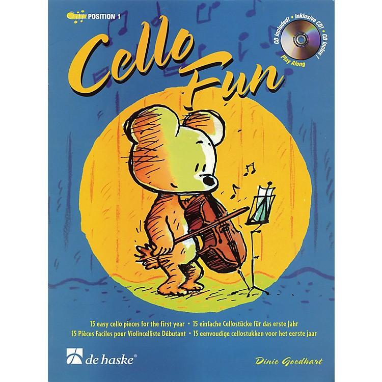 De Haske MusicCello Fun (15 Easy Cello Pieces for the First Year) De Haske Play-Along Book Series