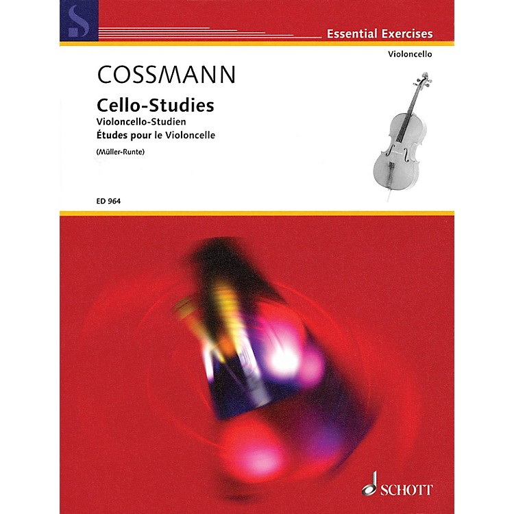 Schott Cello-Studies Schott Series
