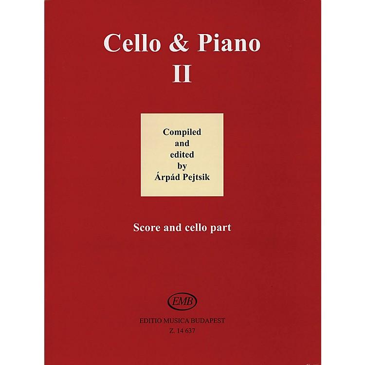 Editio Musica BudapestCello and Piano (Volume 2) EMB Series
