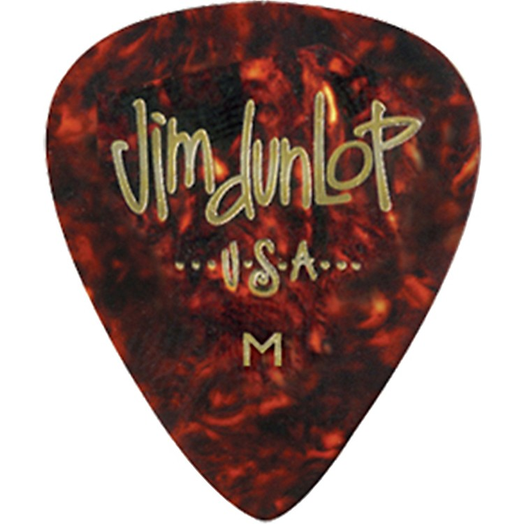 Dunlop Celluloid Classic Guitar Picks 1 Dozen Shell Thin